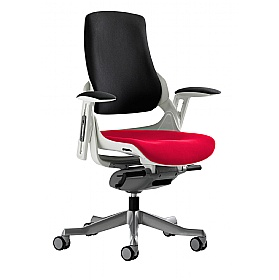 Jett Colours Two Tone Seat Task Chair £376 - Office Chairs