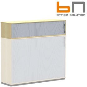 BN SQart Workstation Upper Tambour Door Cupboards £239 - Office Desks