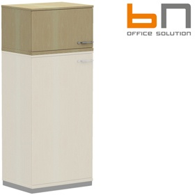 BN SQart Workstation Upper Single Door Cupboards £143 - Office Desks
