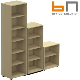 BN SQart Workstation Narrow Bookcase £143 - Office Desks