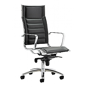 Tycoon Enviro Leather Executive Chair £155 - Office Chairs