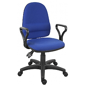 Ergo Twin Operator Chair £68 - Office Chairs