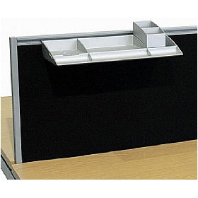 Elite Matrix System Screen Stationery Compartments £39 - Office Desks