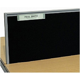 Elite Matrix System Screen Name Plate £48 - Office Desks