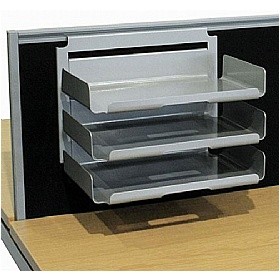 Elite Matrix System Screen Hanging Paper Trays £161 - Office Desks