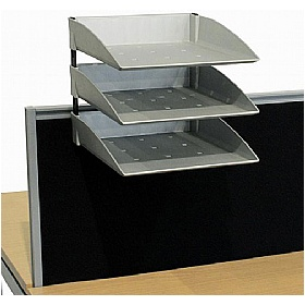 Elite Matrix System Screen A4 Pending Trays £88 - Office Desks