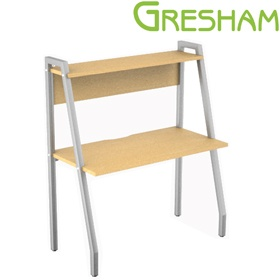 Gresham Script Compact Workstation £262 - Office Desks