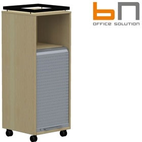BN SQart Workstation Tambour Door Auxiliary Caddy £366 - Office Desks