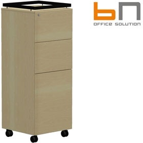 BN SQart Workstation Panel Door Auxiliary Caddy £406 - Office Desks