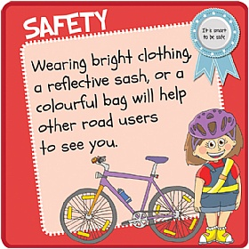 Children's Visibility Safety Sign £20 - Education Furniture