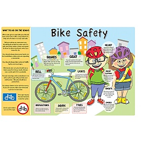 Bike Safety Sign £0 - Education Furniture