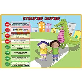 Stranger Danger Safety Sign £0 - Education Furniture