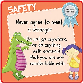 Children's Stranger Safety Sign £20 - Education Furniture