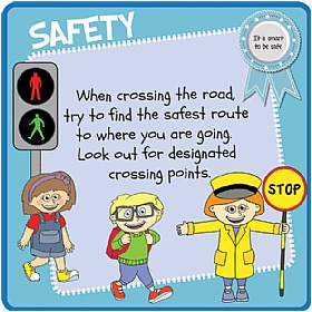 Childrens's Road Crossing Safety Sign £0 - Education Furniture