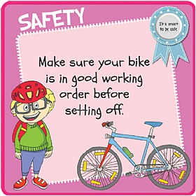 Children's Cycle Safety Sign £20 - Education Furniture