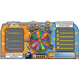 Chalk & Cheese Wordwheel Game £0 - Education Furniture