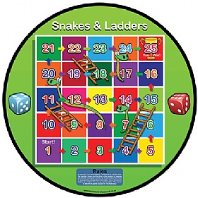 Snakes And Ladders Table Top Game £0 - Education Furniture