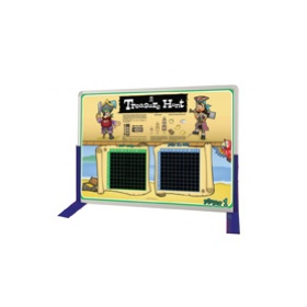 Pirate Coordinates Standing Table Board £0 - Education Furniture