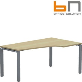BN Primo Space Veneer Ergonomic Desks £523 - Office Desks