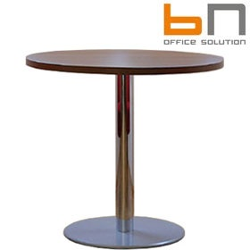 BN Primo Space Veneer Round Conference Tables £389 - Office Desks