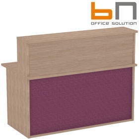 BN Velum Modular Reception - High Straight Unit £293 - Reception Furniture