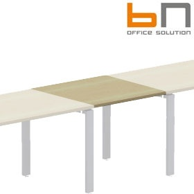 BN Primo Space Veneer Conference Straight Linking Squares £145 - Office Desks