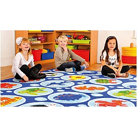 Under The Sea Rectangular Carpet £171 - Education Furniture