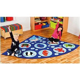 Under The Sea Corner Carpet £0 - Education Furniture