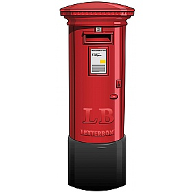 Street Landmark Postbox Sign £93 - Education Furniture