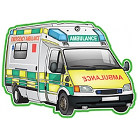 Vehicles At Work Ambulance Sign £0 - Education Furniture