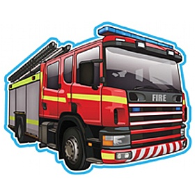 Vehicle At Work Fire Engine Sign £0 - Education Furniture