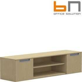 BN Primo Space Veneer Wall Mounted Combination Cabinets £758 - Office Desks