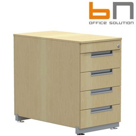 BN Primo Space Desk High Pedestals £462 - Office Desks