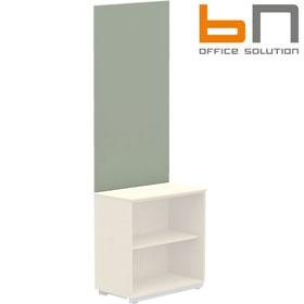 BN Primo Space Wall Pinboard For 1 Shelf Storage £74 - Office Desks
