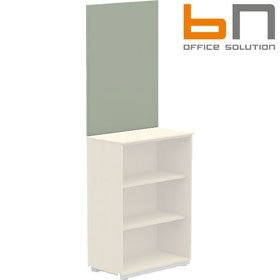 BN Primo Space Wall Pinboard For 2 Shelf Storage £77 - Office Desks