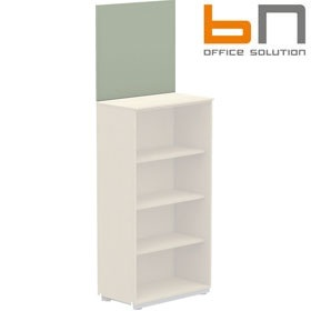 BN Primo Space Wall Pinboard For 3 Shelf Storage £63 - Office Desks
