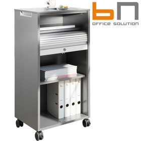BN Primo Space Mobile Tambour Storage Caddy £277 - Office Desks
