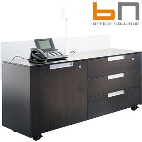 BN Primo Space Veneer Side Boards £1001 - Office Desks