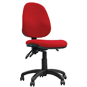 Basics Ergo 3 Lever Operator Chair £60 - Office Chairs