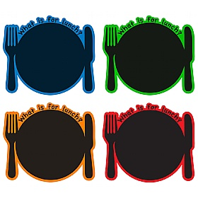 What's For Lunch Chalkboard Set £0 - Education Furniture