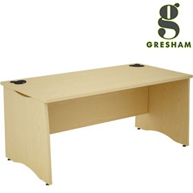 Gresham EX10 Rectangular Desks £205 - Office Desks