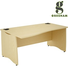 Gresham EX10 Wave Desks £272 - Office Desks