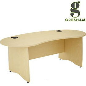 Gresham EX10 Kidney Desks £416 - Office Desks