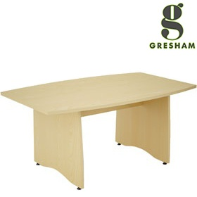 Gresham EX10 Boat Shaped Meeting Tables £349 - Meeting Room Furniture
