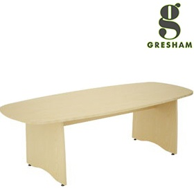 Gresham EX10 Lozenge Shaped Meeting Tables £419 - Meeting Room Furniture