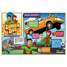 Dinner Duo Muscle Power Sign £0 - Education Furniture