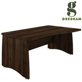 Gresham EX10 Executive Wave Desks £367 - Office Desks