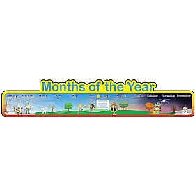 Months Of The Year Board £0 - Education Furniture