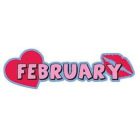 Months Of The Year February Signs £0 - Education Furniture