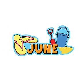 Months Of The Year June Signs £0 - Education Furniture